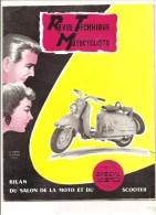 Moto Revue Technique Motocycliste N°106 De Novembre 1955 Spécial Scooter - Auto/Motorrad
