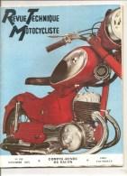 Moto Revue Technique Motocycliste N°105 De Novembre 1955 Compte-Rendu Du Salon - Auto/Motorrad