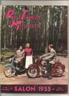 Moto Revue Technique Motocycliste N°103 D´octobre 1955 Salon 1955 - Auto/Motorrad