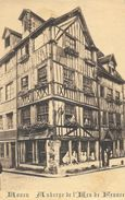 Rouen - Hôtel De L'Ecu De France, Place Du Vieux-Marché - Phototypie Lecerf - Carte Non Circulée - Hotels & Restaurants