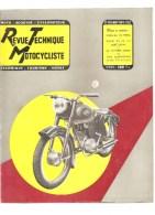 Moto Revue Technique Motocycliste N°102 Août Sept 1955 Etude Du 175 YDRAL Essai De La V2 René Gillet - Auto/Motorrad