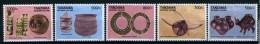 2012 - TANZANIA - Mi. Nr. 4897/4901 - NH - ( **) - (K-EA-361369.4) - Tanzania (1964-...)