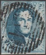 Belgique 1851 COB 7A. Oblitération P 51 Grammont - 1851-1857 Médaillons (6/8)