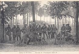Camp De Beverloo - Service De Télégraphie Sans Fil - Manoeuvres