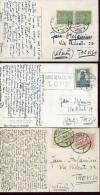 14359 Poland, 3 Circuled Cards 1929,1930,1932,  As Scan - 1919-1939 Republic