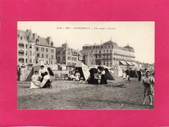 62 PAS DE CALAIS, WIMEREUX, La Plage (Centre), Animée, Tentes, (E. B.) - Autres Communes