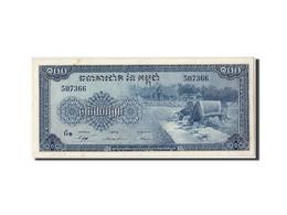 Cambodge, 100 Riels, Non Daté (1962-75), KM:13b, SPL - Cambodia
