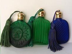 Miniature Ancienne  Lot Yves Rocher Vide - Vintage Miniatures (until 1960)