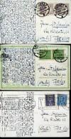 14364 Poland, 3 Circuled Cards 1929,1929,1930  As Scan - 1919-1939 Republic