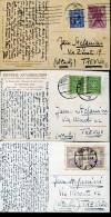 14367 Poland, 3 Circuled Cards 1929,1931,1928  As Scan - 1919-1939 Republic