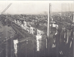 GUERRE D´ORIENT- 1918- SALONIQUE -VUE DU HAUT DE LA TOUR BLANCHE  11X8CM - Guerra, Militari