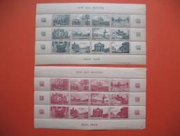 """Vignettes  En Feuille """" Aides Aux Artistes Paris 1942 """"  Neuf** - Erinnophilie"""
