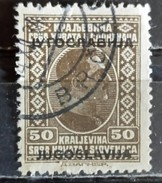 KING ALEXANDER-50 P-OVERPRINT-POSTMARK-BRCKO-BOSNIA AND HERZEGOVINA-YUGOSLAVIA-1933 - Used Stamps