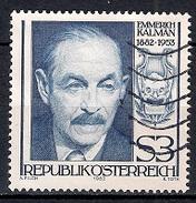 (A1) Austria 1982 - Emmerich Kàlmàn - 1945-.... 2ª República