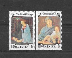 Dominica 1975 Y&T Nr° 441,442  ** - Dominique (1978-...)