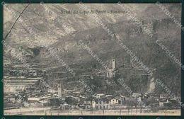 Brescia Valle Camonica Capo Di Ponte Cartolina QK6931 - Brescia