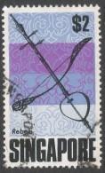Singapore. 1968-73 Definitives. $2 Used. SG 113 - Singapore (1959-...)