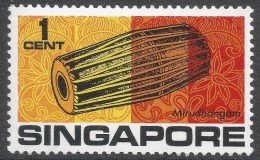 Singapore. 1968-73 Definitives. 1c MH. SG 101 - Singapore (1959-...)