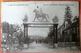 PM 500 * 5 MAUVES-sur-HUISNE Fête Du 2 Octobre 1921 - Place Du Champ De Foire - France