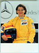 Photo Publicitaire Camion MERCEDES 1834 S - Pilote De Course Ellen LOHR (Allemagne) Mercedes Team - Camions