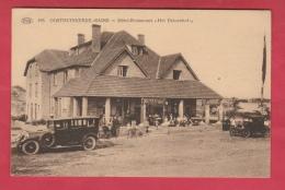 """Oostduinkerke-Bains - Hôtel-Restaurant """" Het Duinenhof """"  - Oldtimer, Geanimeerd - 1921 ( Verso Zien ) - Oostduinkerke"""