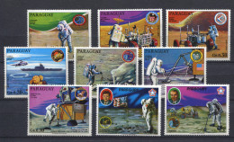 Paraguay   1973, Space