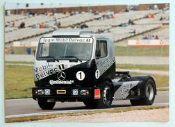 Photo Publicitaire Camion MERCEDES 1834 S - Le Camion De Steve PARRISH (Grande-Bretagne) Team Mobil Atkins - Camions