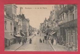 Wenduine / Wenduyne - Kerkstraat - Winkels ... Geanimeerd - 1920  ( Verso Zien ) - Wenduine