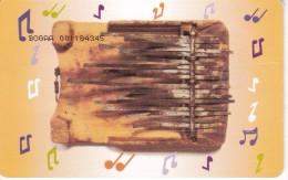 TARJETA DE BOTSWANA DE UN INSTRUMENTO MUSICAL - Botswana