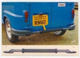 Pub. Renault          Pare-Choc Central Arrière D'Estafette      Paul Simon - Publicidad