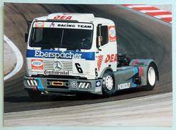 Photo Publicitaire Camion MERCEDES 1834 S - Le Camion De Markus OESTREICH (Allemagne) DKV-M Racing Team - Camions