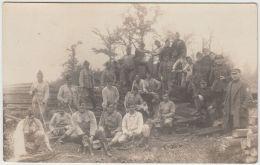27832g  GUERRE 14-18 - MILITAIRES EN UNIFORME - GROUPE - Guerre 1914-18