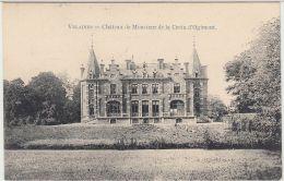 28020g   CHATEAU DE MONSIEUR DE LA CROIX D'OGIMONT - KASTEEL - Velaines - 1910 - Celles