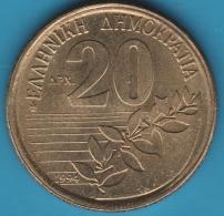 GRECE 20 DRACHMES 1994 Dionysios Solomos - Grecia