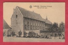 Lokeren - Pensionaat St-Jozef Van Uit Den Tuin - 1924 ( Verso Zien ) - Lokeren