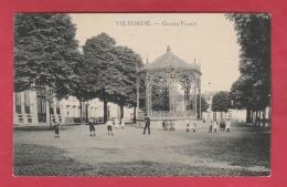 Vilvoorde / Vilvorde - Grand'Place ... Kinderen - 1911 ( Verso Zien ) - Vilvoorde