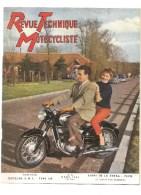 Moto Revue Technique Motocycliste N°93 MARS 1955 Essai De La 250 SG PUCH - Auto/Motorrad