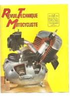 Moto Revue Technique Motocycliste N°90 DECEMBRE 1954 Moteur COMET 98 CC - Auto/Motorrad