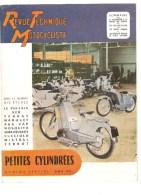 Moto Revue Technique Motocycliste N°81 Bis Juin1954 Le Poulain SER TERRAT MARQUET - Auto/Motorrad