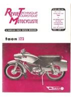Moto Revue Technique Motocycliste N°127 Avril 1957 Etude Des 250 BSA - Auto/Motorrad