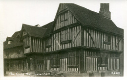 SUFFOLK - LAVENHAM - THE GUILD HALL RP Suf323 - England