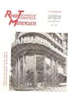 Moto Revue Technique Motocycliste N°135 MARS AVRIL 1958 Etude Des MATCHLESS CROSS - Auto/Motorrad