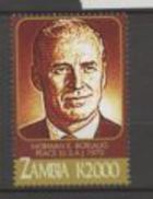 Zambie Nobel Normann E Borlaug - Nobelpreisträger