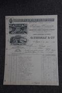 Facture Ancienne, AGEN, Droguerie Centrale Du SUD OUEST , G.THOMAS Et Compagnie. - 1800 – 1899