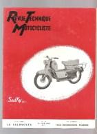Moto Revue Technique Motocycliste N°117 Juin 1956 Etude Du VELOSOLEX - Auto/Motorrad