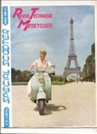 Moto Revue Technique Motocycliste N°115 MAI 1956 Spécial SCOOTER - Auto/Motorrad