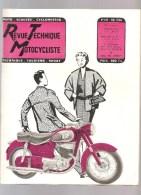 Moto Revue Technique Motocycliste N°114 MAI 1956 Etude Des 250 Cc PUCH - Auto/Motorrad