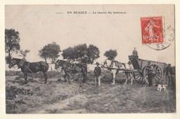 28 EN BEAUCE Le Charroi Des Betteraves Agriculture Scène - France