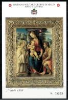 *B10* -  SMOM 1999 -  Natale. Dipinto Di Giovannantonio Sogliani - 1 Val.  In BF  MNH** - Perfetto - Sovrano Militare Ordine Di Malta