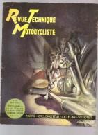 Moto Revue Technique Motocycliste N°50 De Mai 1952 La 125 TT PUCH Le Moteur VLT - Auto/Motorrad